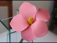 Manualidades: Flor hecha con globos. Flower