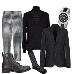 Quadri e quadretti  outfit uomo Trendy per ufficio  4f85808740e