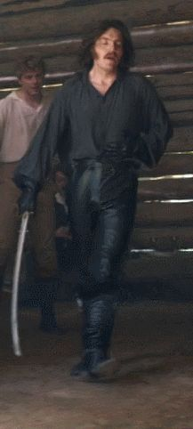 Oh my Actual God Tom Burke! — unkindness313:  Dolokhov's leather pants...