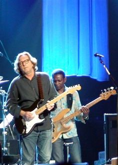 Eric Clapton with Roger Daltry Concert