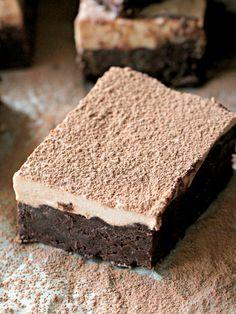 Chocolate Mousse Brownies or Best Brownies EVER! - Peas and Peonies