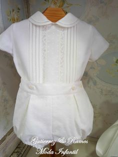 Gutiérrez y Ramos Moda infantil Boy Baptism Outfit, Christening Outfit, Christening Gowns, Baby Boy Fashion, Toddler Fashion, Kids Fashion, Baby Boy Outfits, Kids Outfits, Spanish Baby Clothes