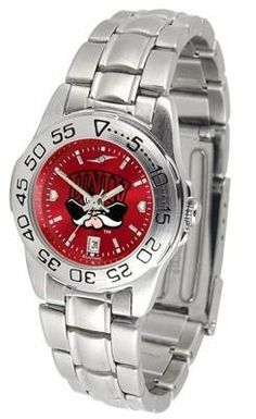 UNLV Running Rebels Ladies Stainless Steel Dress Watch by SunTime. $63.95. Women. AnoChrome Dial Enhances Team Logo And Overall Look. Links Make Watch Adjustable. Officially Licensed UNLV Running Rebels Ladies Stainless Steel Dress Watch. Stainless Steel-Scratch Resistant Crystal. UNLV Running Rebels ladies stainless steel dress watch. This Running Rebels women's watch comes with a stainless steel link bracelet, date calendar, plus a rotating bezel/timer circles the scratch res...