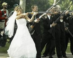 Redneck wedding party shooting uninvited guests
