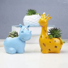 1 Pc Resin Potted Plant Cartoon Animal Mini Potted Stand for Bedroom Living Room – Best Garden Plants And Planting Succulent Pots, Planting Succulents, Potted Plants, Diy Crafts Slime, Plant Cartoon, Small Flower Pots, Balcony Flowers, Biscuit, House Plants Decor