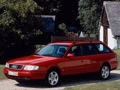 Audi A6 Avant (1994 – 1997) fast grön. Min föregående bil.