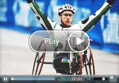 """Shaklee Olympic Team Athlete Craig Blanchette is unstoppable. A four-time winner of the Portland (Ore.) Marathon, he holds 21 world records in elite wheelchair racing and a bronze medal from the Games in Seoul. Indeed, Craig knows what it takes to succeed and admits that although winning is great, it's not everything. Rather, passion is what fuels him to do what he does. """"It's now or never,"""" he says."""