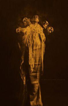soul dance by David Galstyan, via Behance