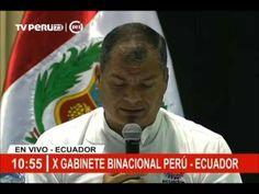 Discurso del Presidente Rafael Correa en el X Gabinete Binacional 07/10/2016 - YouTube