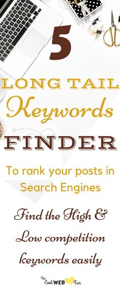 5 Best long tail keywords tool which you can use for free. These long tail keywords tool will help you to research keywords in the simplest way. Seo Marketing, Internet Marketing, Content Marketing, Marketing Ideas, Affiliate Marketing, Online Marketing, Seo For Beginners, Seo Tips, Business Tips