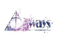 Harry Potter Always Deathly Hallows Professor Snape by sPRINNT