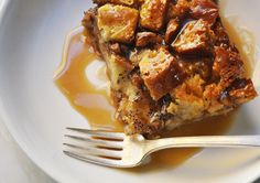 Bread Pudding with Bourbon, Pecans & Butterscotch!    I think Ms. Talia Galvez would love this.