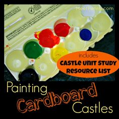Cardboard castles and castle unit study resource list