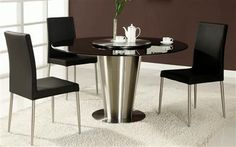 Round Marble Dining Room Set Dawn-Dt