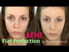 ▶ REW&APPLICAZIONE: Fondotinta Flat Perfection by NeveCosmetics! - YouTube