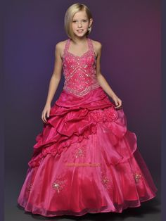 Gwyn needs a new pageant dress. Rosie Girls Pageant Dress 563 Cheap Little Girl Pageant Dresses Cheap Dresses, Cute Dresses, Beautiful Dresses, Girls Dresses, Flower Girl Dresses, Formal Dresses, Flower Girls, Formal Wear, Pagent Dresses