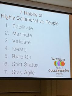 7 Habits of highly collaborative people- Lyn Cazaly