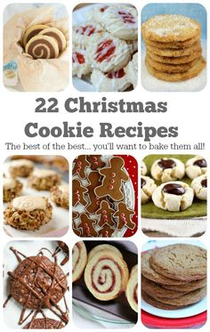 22 Christmas Cookie Recipes