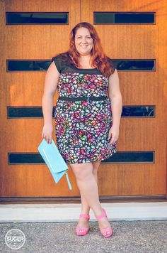 Suger Coat It | She Wore What: City Chic Summer Dress | http://sugercoatit.com #plus #size #fashion #blogger #citychiconline #asos #theiconic