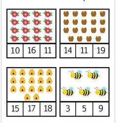 Numbers Preschool, Learning Numbers, Preschool Math, Kindergarten Math, Letter V Worksheets, Mental Maths Worksheets, Worksheets For Kids, Math Games For Kids, Toddler Activities