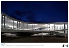 Architecture of the Week: The Rolex Learning Center, Ecole Polytechnique Federale, Lausanne, Switzerland; by SANAA