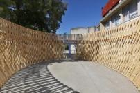 Temporäres Theater in Portugal / Minimale Kulisse - Architektur und Architekten - News / Meldungen / Nachrichten - BauNetz.de