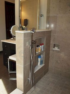Contemporary Bathroom, Bathroom Interior Design, Bathroom Makeover, Shower Room, Shower Makeover, Amazing Bathrooms, Bathroom Design Small, Bathroom Shower, Bathroom Shower Design