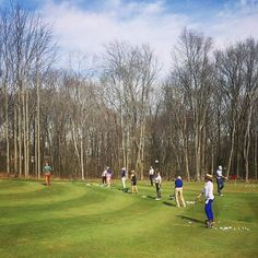 The Women's GAP #Golf Team is getting tuned up for their spring matches. ⛳️🏌🏻‍♀️ #GolfCourse #ULGolfClub
