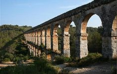 Puente del Diablo de Tarragona, España