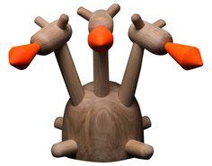 """Горыныч"". Разборная игрушка (дерево). Александр Каныгин."