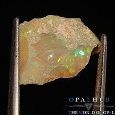 7.00 Cts Natural Ethiopian Welo Fire Opal Rough Play of Color 2365