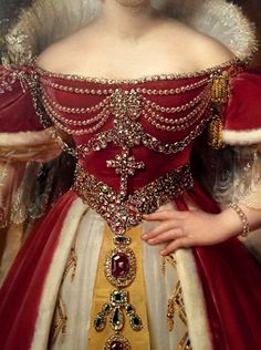 Frances Anne Vane, Marques of Londonderry by Alexandre- Jean Dubois- Drahonet