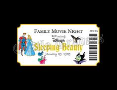 Sleeping Beauty Movie Ticket Pin Display Board ---- 11x14 $25 + shipping ---- larger sizes available --- to order visit: https://www.facebook.com/mycastletraders