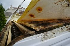 RV Roof repair. How to fix a leaky RV Roof