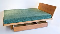 1000 images about little house in the big woods on for Floating platform bed with storage