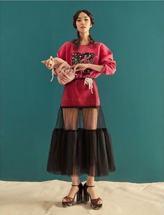 Marc Jacobs Resort Shot by Lee Young Hak, styled by MJ Kim for Grazia Korea Runway Fashion, High Fashion, Fashion Show, Fashion Outfits, Womens Fashion, Fashion Design, Fashion Trends, 80s Fashion, Fashion Clothes