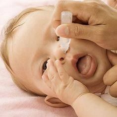 How To Clear Baby's Nose - A stuffy nose can mean one cranky baby -- especially since newborns know how to breathe only through their little nostrils at first.