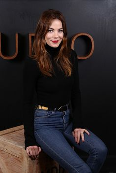 af30ffcdb5231 Michelle Monaghan wearing our Colorado Body in black at the Sundance Film  Festival
