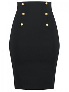 """""""High Waist"""" Women's Skirt by Double Trouble 