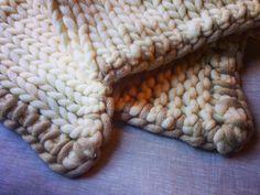 MarinaC - hand knitted merino wool blanket #marinacmilano