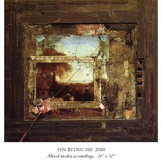 Fred Otnes Collage Paintings - On Being 100