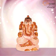 Improve the quality of your work with the #DivineGift of Lord Ganesha Idols crafted from Sandstone, also revered as the stone of creativity.  http://bit.ly/1Jp3HCa