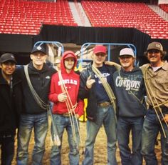 Tuf cooper last night at the NFR arena! 12-2-13