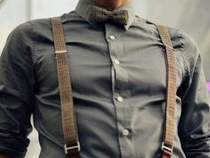 Suspenders and bowties!