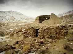 Travellers' shelter on the ancient Silk Road