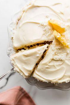 Frosting Recipes, Cupcake Recipes, Baking Recipes, Cupcake Cakes, Dessert Recipes, Desserts, Dinner Recipes, Coconut Pineapple Cake, Pineapple Recipes