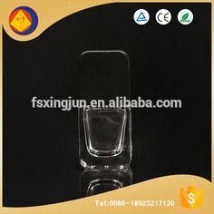 China supplier wholesale custom made square decoration empty unique nail polish bottles