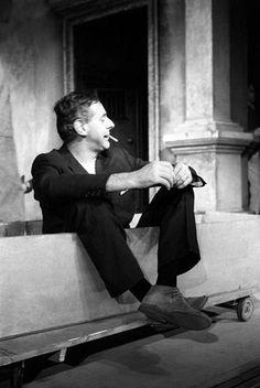 Dario Fo in 'Settimo: ruba un po' meno' Dario Fo, World Theatre, Nobel Prize In Literature, Nobel Prize Winners, In His Time, Playwright, Video Footage, Comedians, Cinema