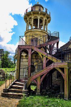 Hameau de la reine / Queen's Hamlet (Petit hameau) - Petit Trianon, Park of Versailles by Curtis Lannom, via Flickr