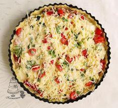 Kermaruusu: Kinkku-kasvispiirakka Quiche, Breakfast, Food, Morning Coffee, Essen, Quiches, Meals, Yemek, Eten